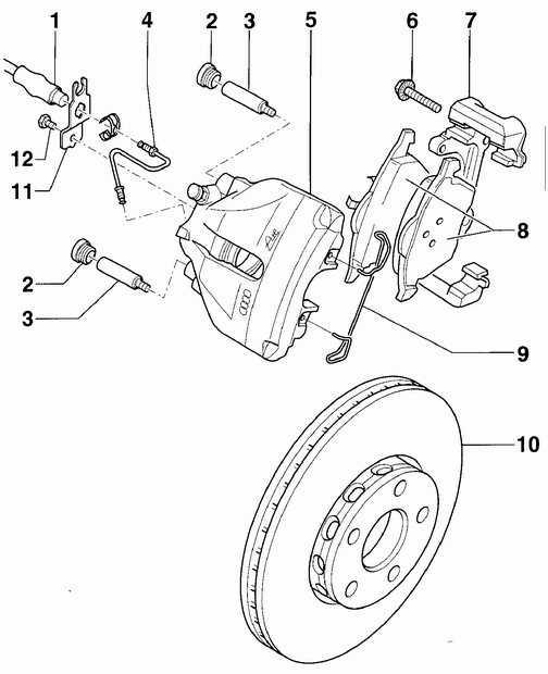 4 – тормозной трубопровод, 15